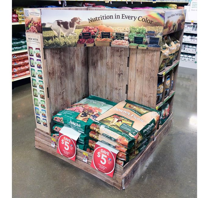 Innova Showcases Updated Packaging on Holistic Pallet Display