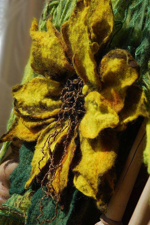 Шарфы и шарфики ручной работы. Fiore del Sole. Светлана Вронская. Ярмарка…