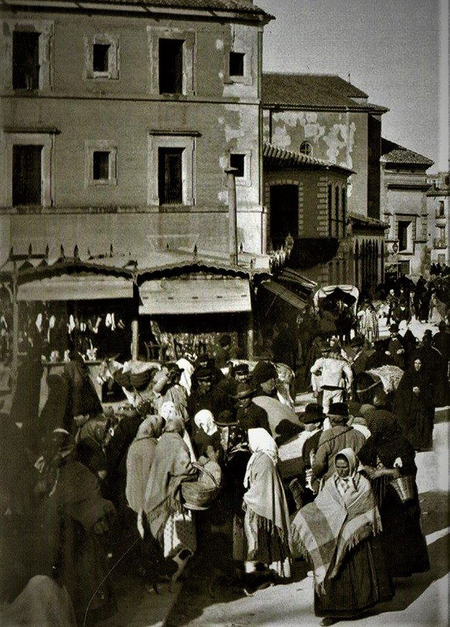 MURCIA 1900. POSADA DE SAN ANTONIO A LA ENTRADA DEL MALECÓN JUNTO A VERÓNICAS