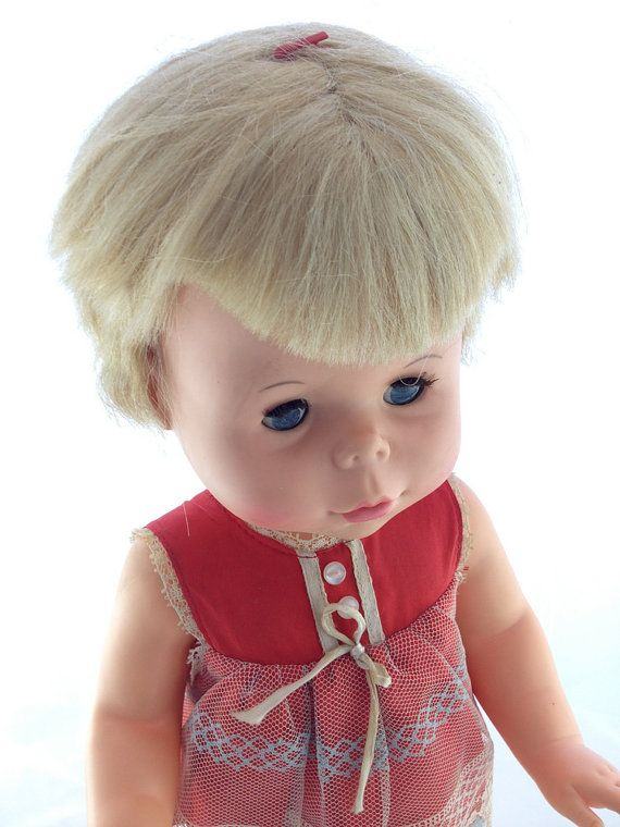 Vintage Doll Talking Baby First Step Mattel 1966 by ...