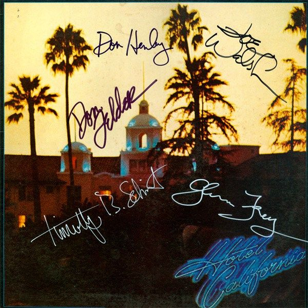 Hotel Californiais the fifth studio album of the Eagles. It also was a single track on the album.   I own no rights to the video, shared off you tube.