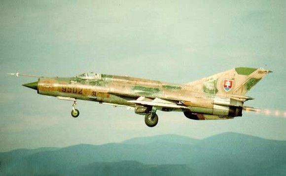 Mig-21MF (Fishbed-J) 9502 Slovak AF
