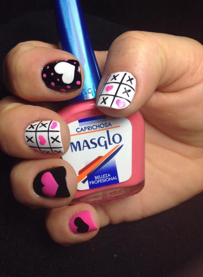 Diseño de Gloria Guarín, vía #Facebook #nails #masglo #manicure