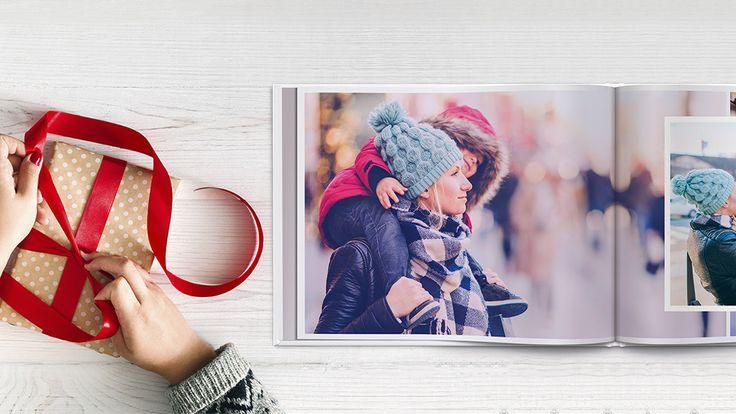 Lag en personlig fotobok i julegave!