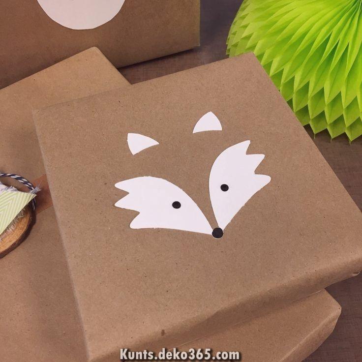 Zauberhafte Geschenkverpackung zum Besten von Tiere – Papiervoraussetzung