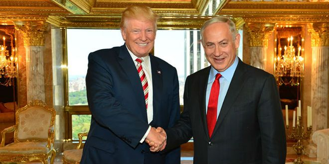 PM Benjamin Netanyahu with Republican Presidential candidate Donald Trump in New York, Sunday, September 25, 2016. (GPO/Kobi Gideon) | Trump Tells Netanyahu He Will Recognize Jerusalem as Israel's Undivided Capital  - http://www.breakingisraelnews.com/76263/netanyahu-meets-trump-clinton-new-york/#FV68xO7K9CbGEryg.97