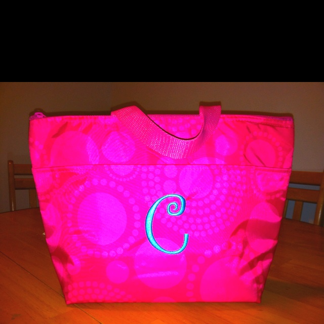 Thirty one lunch bag---perfect for the kiddos too!