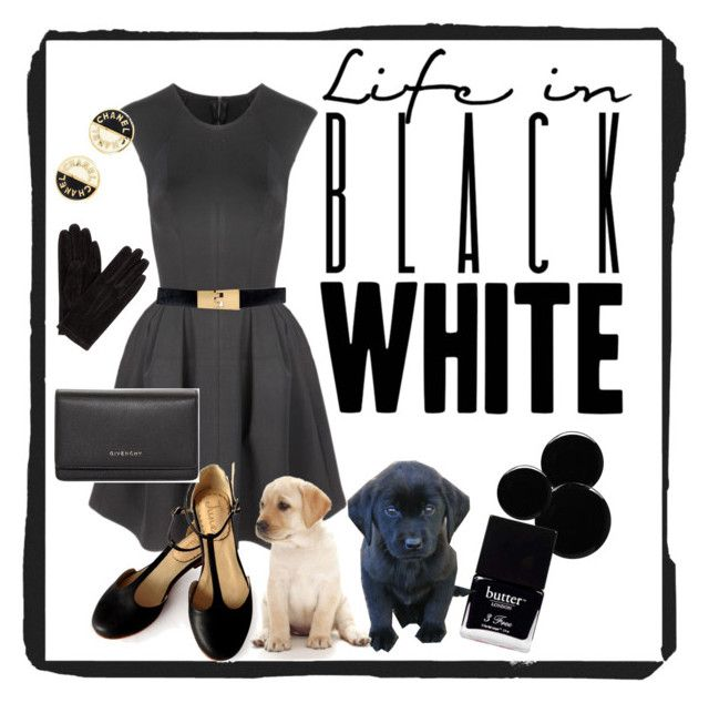 """""""One Looks Guilty 😳"""" by klm62 ❤ liked on Polyvore featuring Related, White House Black Market, Givenchy, Deborah Lippmann, Butter London, John Lewis and Chanel"""