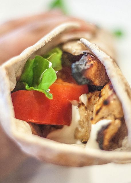 Chicken shawarma roll - photo#43