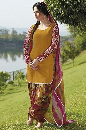 SimpleSarees Trendy Patiala Salwar Suit