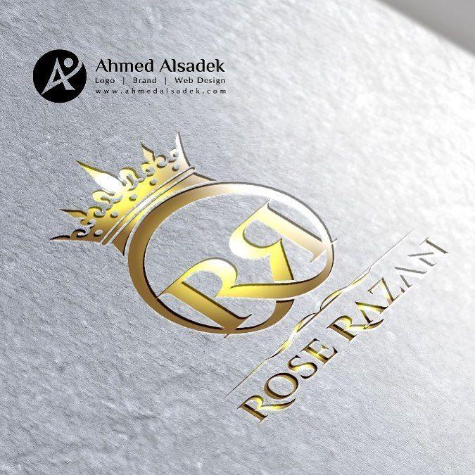 تصميم شعار روز رزان للعطور والعود ودهن العود دبي الامارات العربية المتحدة Arabic Art Vehicle Logos British Leyland Logo
