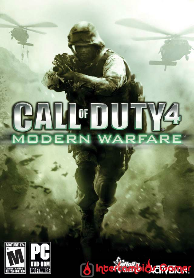 Caratula Call of Duty 4 Modern Warfare en IntercambiosGamer