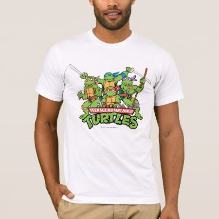 Teenage Mutant Ninja Turtles   Turtle Power T-Shirt - click to get yours right now!