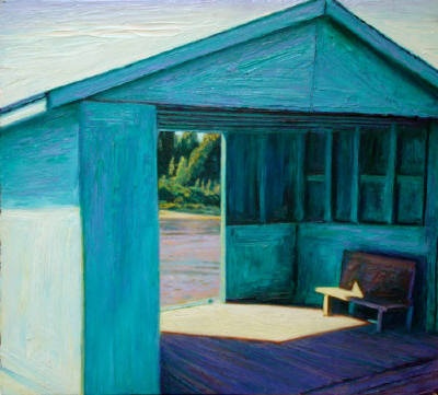 Brian Kipping - Waiting Shed - Moose Factory