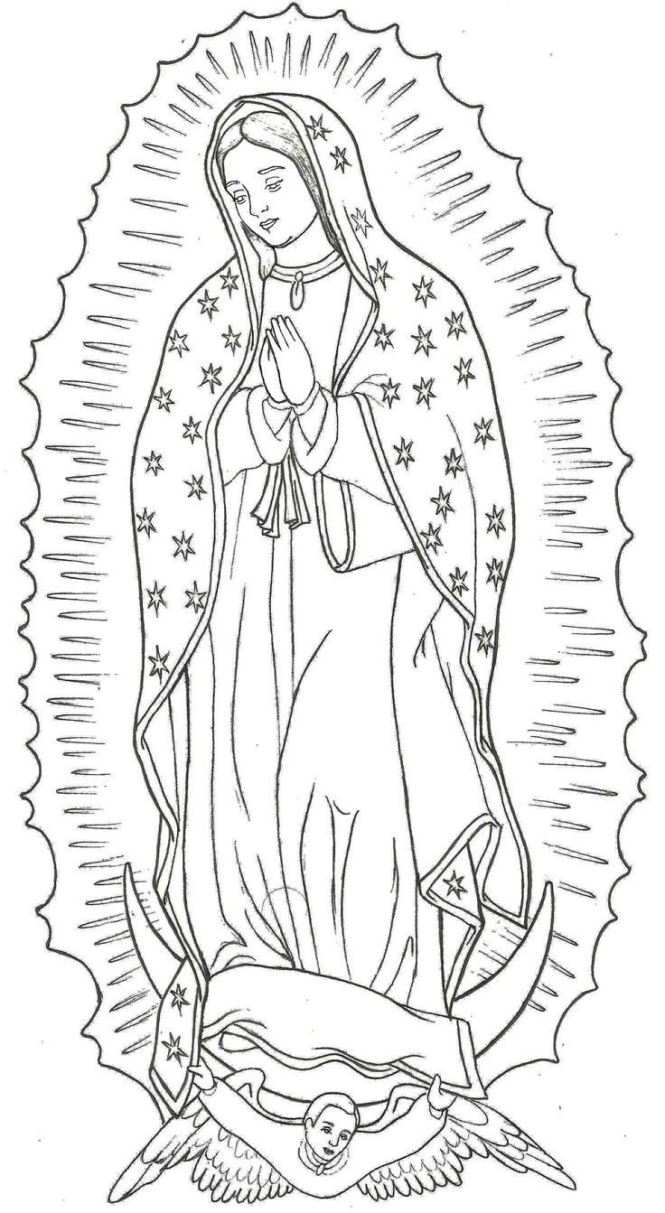 Https Osmondpostcadets Com 865864 How To Draw La Rosa De Virgin Mary Tattoo Drawings Colorful Drawings