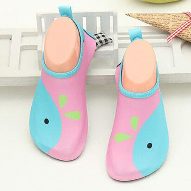 2016 New Children Swimming Fins Diving Socks Snorkeling Boots Neoprene Wetsuit Prevent Scratche Warming Non-slip Shoes Seaside