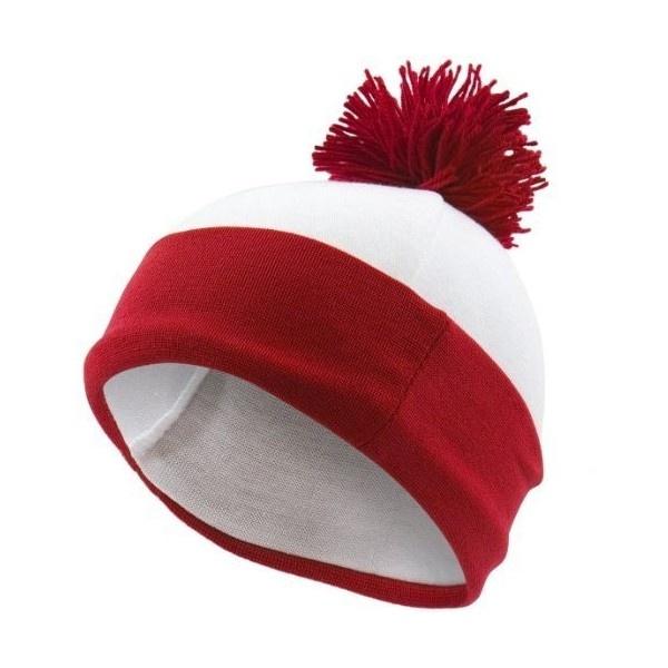 Amazon.com: Where's Waldo Costume Beanie Hat: Clothing ($15) found on Polyvore