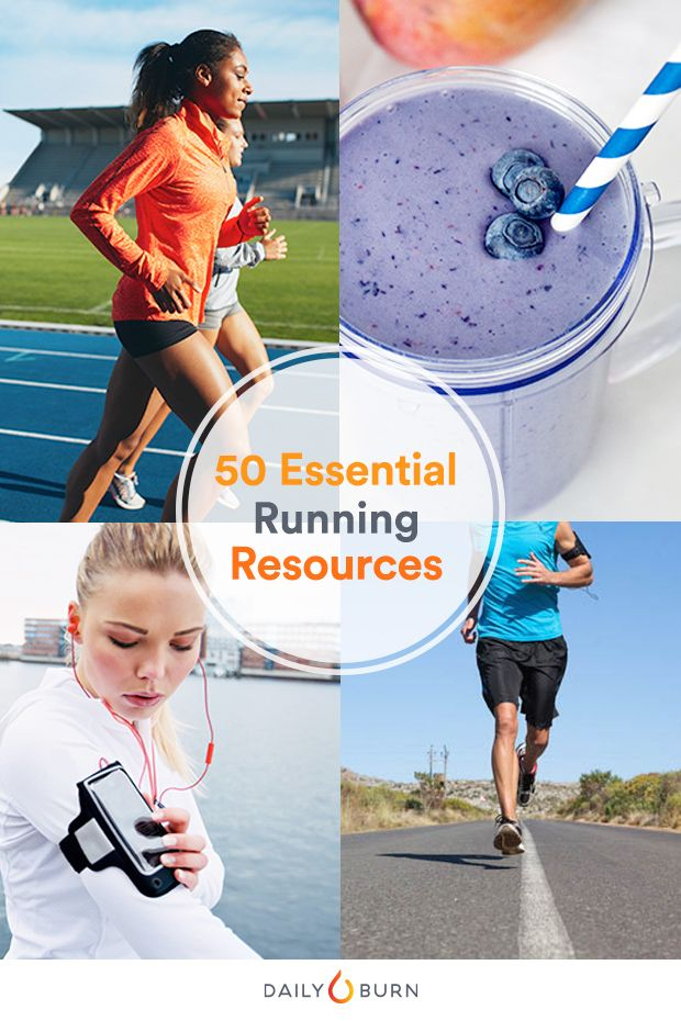 50 Running Resources for Speed, Strength and Nutrition via @dailyburn