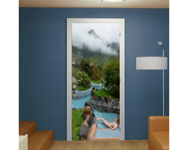 Highland spa resort, αυτοκόλλητο πόρτας , δείτε το!