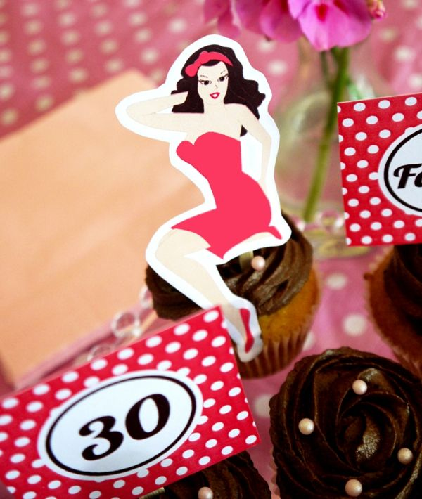 Next year I am having a pin-up glam party with my girlfriends.