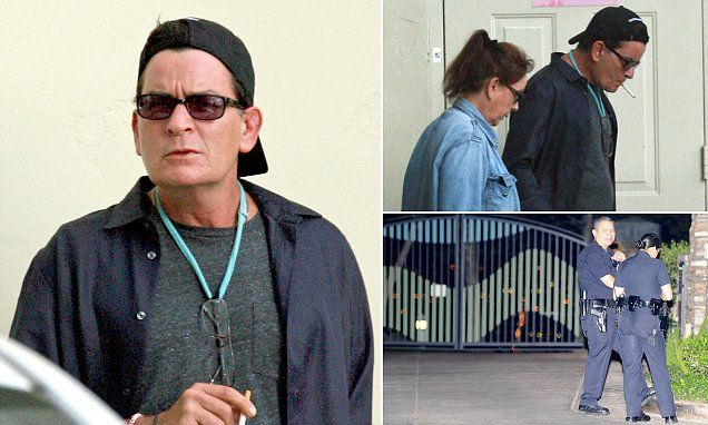 Charlie Sheen has become increasingly isolated over the past two years - paying for porn stars to come and party and rarely venturing out except to go to the movies with his mother Janet.
