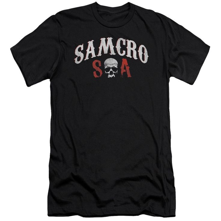 Sons Of Anarchy/Samcro Forever Short Sleeve Adult T-Shirt 30/1 in