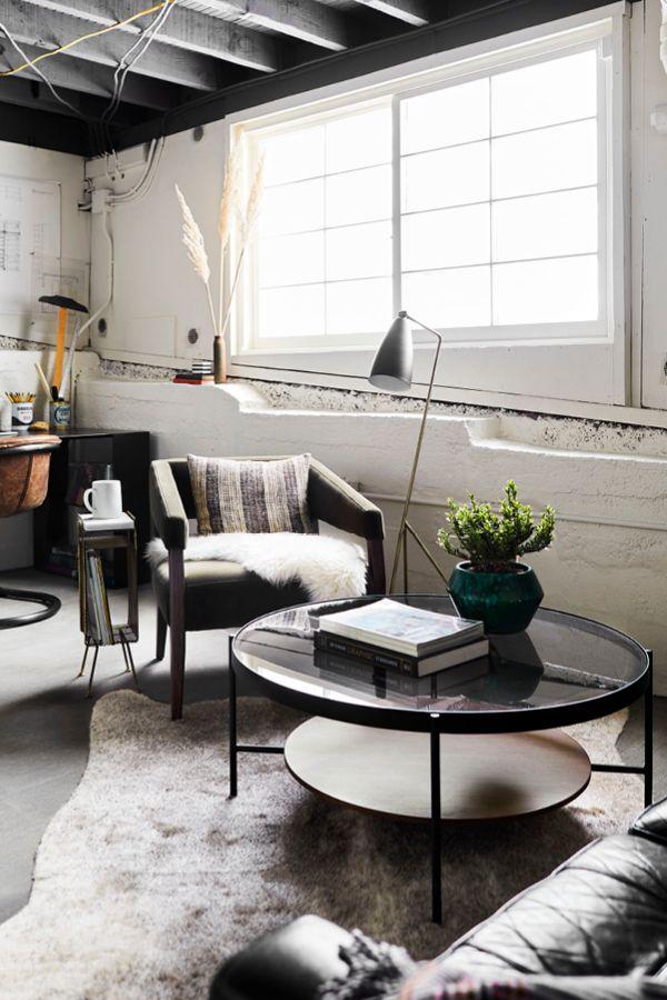 Modern Walnut Living Room Furniture: Vitri Walnut Coffee Table