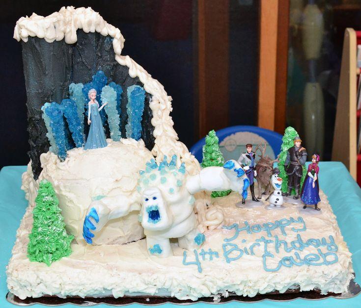 Frozen Themed Birthday Cake Ideas on Pinterest  Frozen birthday cake ...