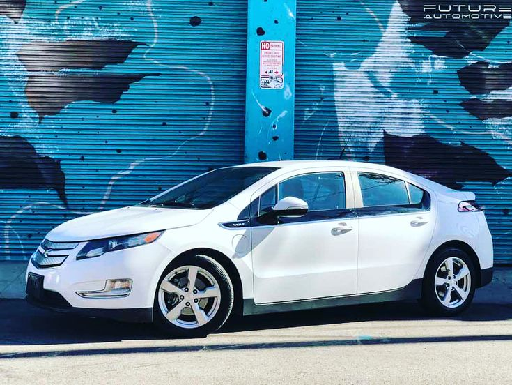 Heres our used 2015 Chevy Volt plug-in hybrid. This car can go up to 40 miles on ALL ELECTRICITY! Also it is a hybrid so you can still use it for road trips. The Volt comes with its own mobile car charger. It has keyless entry and Bluetooth capability. Theres also a touchscreen with apps. The exterior is white and interior is beige. We are selling this Chevy Volt for $12000! For an appointment to check out this cool car call 1-888-757-1936!  #futureautomotive #electriccar #electricvehicle…