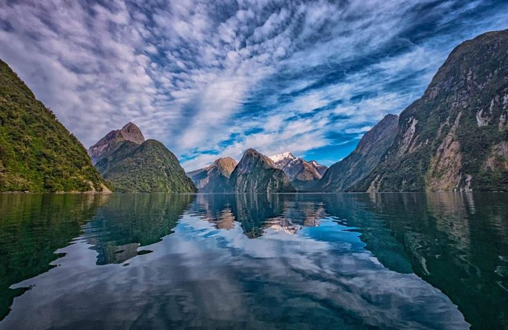 Jeremy Chambers, Essence of the South Island 'Tui' trip  You'd be forgiven for thinking this shot of Milford Sound was an oil painting. A trip here is an assault to the senses. We've used this image countless times on our website, it's just so perfect. Kudos to Jeremy and congratulations on being the 2016 Active photography winner!