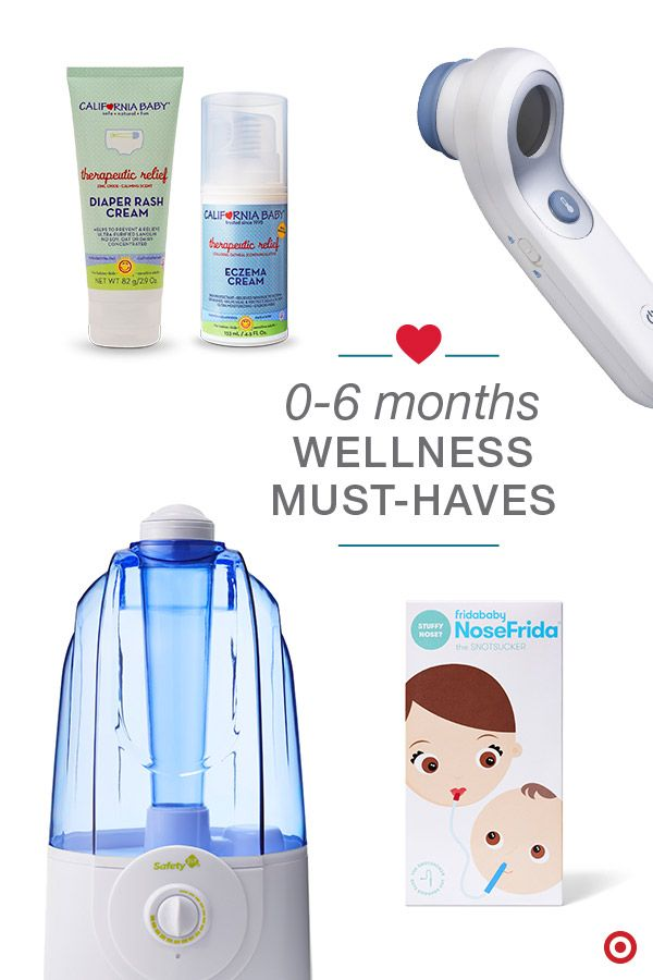 Baby's first cold? Have all the wellness must-haves on hand to help ease what ails them. But what are those essentials? A humidifier. It adds moisture to the air and helps relieve dry, chapped skin. The Braun digital thermometer to take their temperature