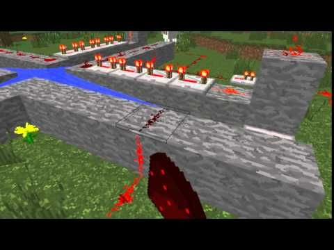 Minecraft: How to make a multi shot cannon.