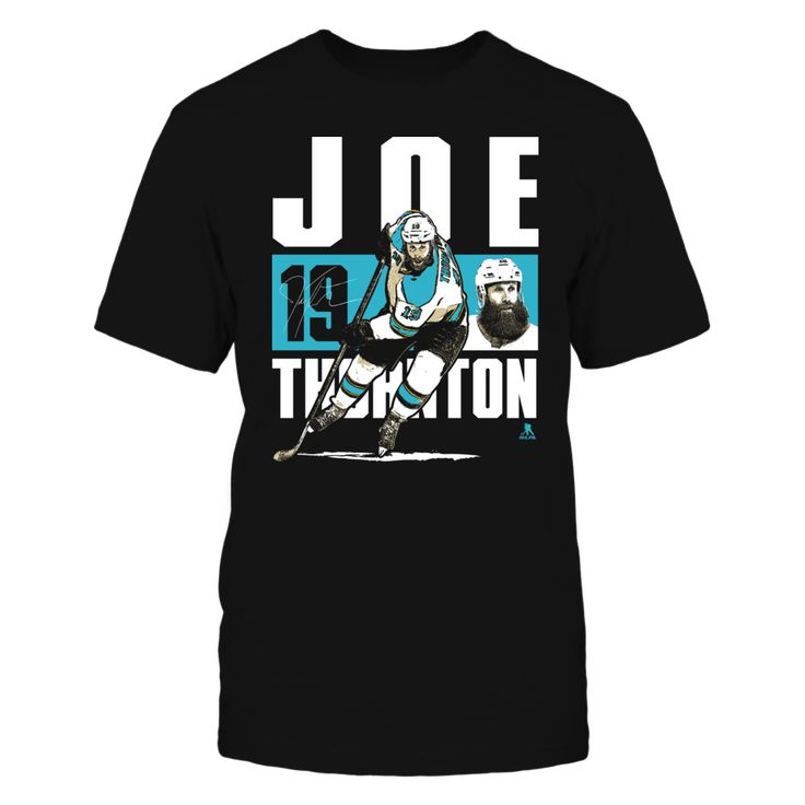 Joe Thornton - Player Portrait Xvcwbr Xvcwbr T-shirt, Joe Thornton Official Apparel - this licensed gear is the perfect clothing for fans. Makes a fun gift!  AVAILABLE PRODUCTS District Men's Premium T-Shirt - $27.95   District Men District Women Next Level Women Gildan Unisex Pullover Hoodie Gildan Fleece Crew Gildan Long-Sleeve T-Shirt View sizing / material info