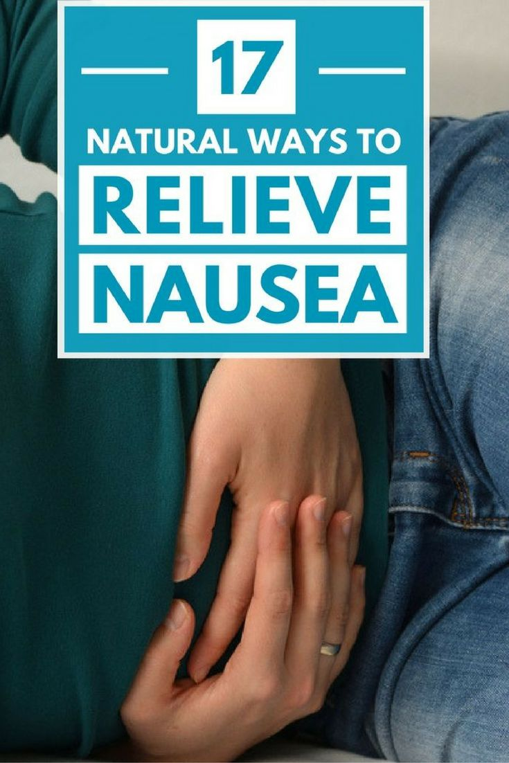 Nausea is something most people are familiar with. It is never pleasant and can arise in a variety of situations, including pregnancy and travel.Anti-nausea medications are commonly used to help relieve it. Unfortunately, such medications can have negative side effects of their own, including drowsiness.Here are 17 home remedies that help you get rid of nausea without using medications.