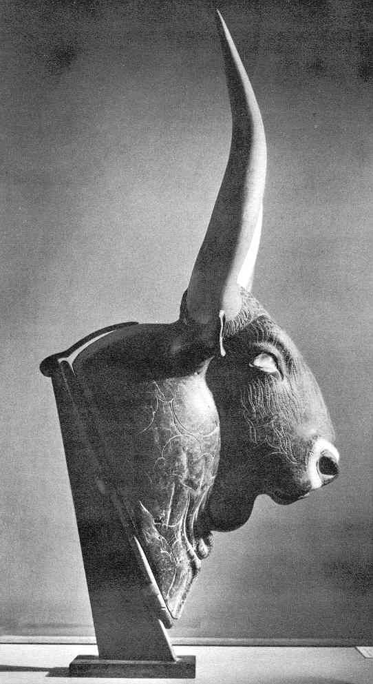 Cretan bull, Minoan Bronze Age civilization flourished from approximately the 27th century BC to the 15th century BC.