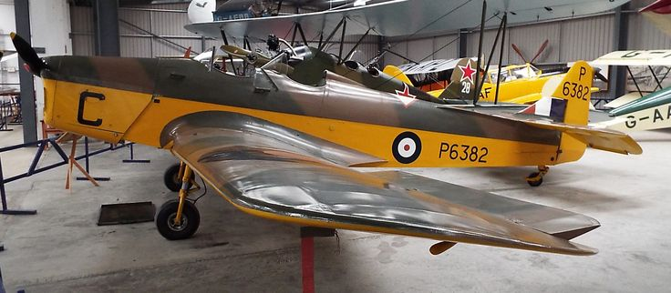Miles M14A Magister 1937 Shuttleworth Collection