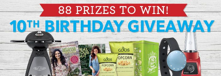 Healthy Food Guide's 10th Birthday Giveaway