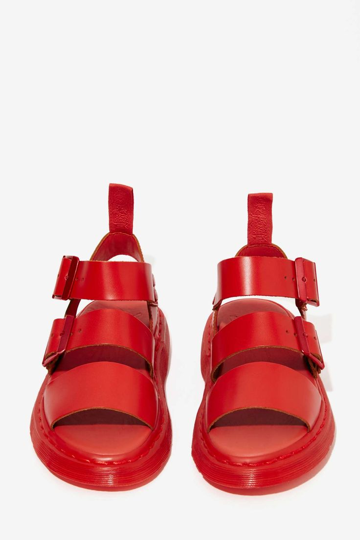 Dr. Martens Gryphon Leather Sandal | Shop What's New at Nasty Gal
