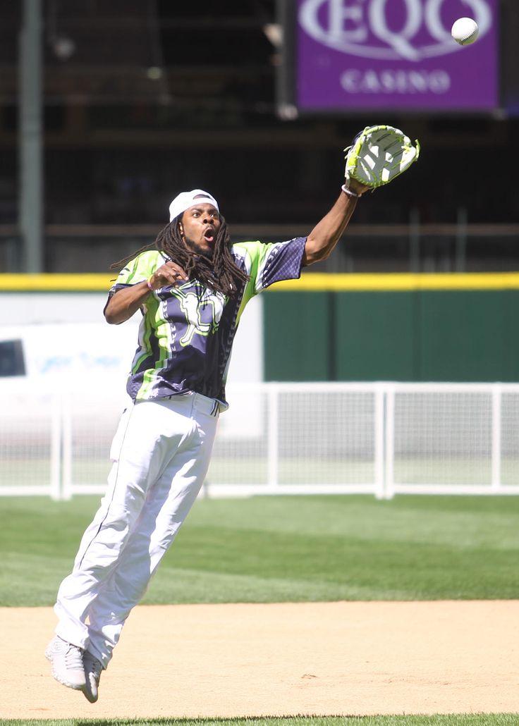 2015 Richard Sherman Celebrity Softball Game (part 1 of 2 ...