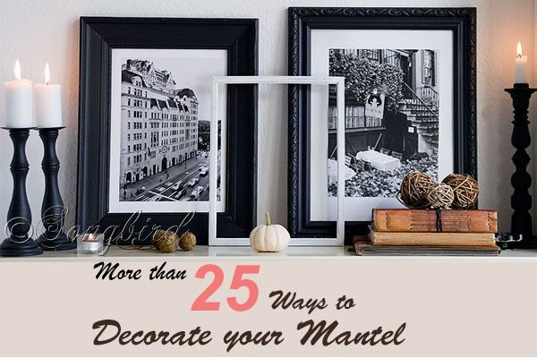 (more than) 25 ways to decorate your mantel through the seasons. Or how @songbird did it at least.