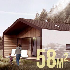 Simple House: prefabrykowany tani dom drewniany energooszczędny i pasywny