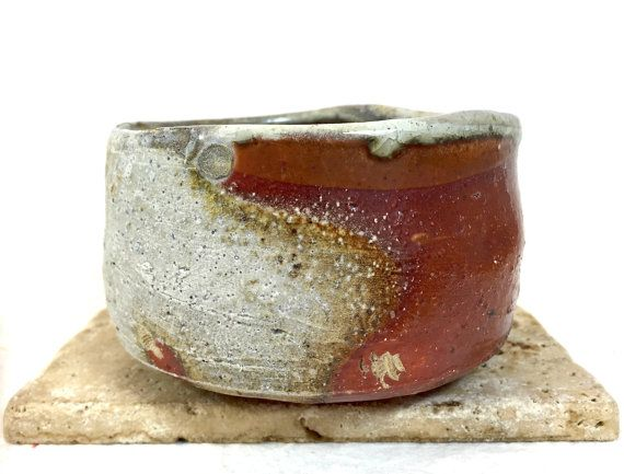 Matcha Chawan  Anagama wood fired by ThreeTreesPottery on Etsy