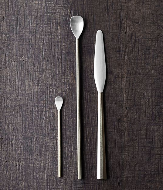 FUTAGAMI IHADA Cutlery | Design by Masanori Oji | Analogue Life