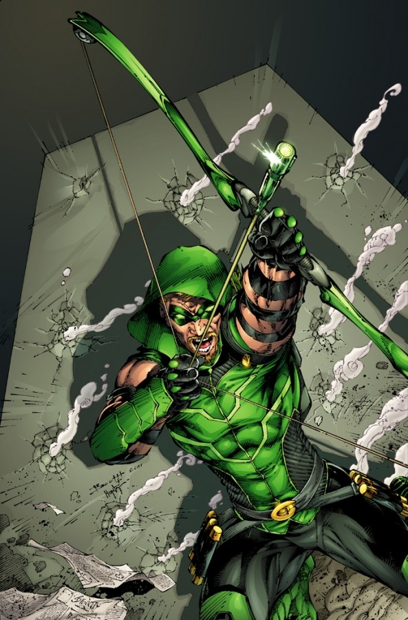 The Green Arrow! the DC Comics character ARROW is based on