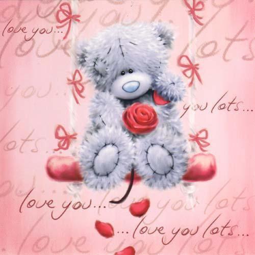 Tatty Teddy. <3 love you lots xxxx