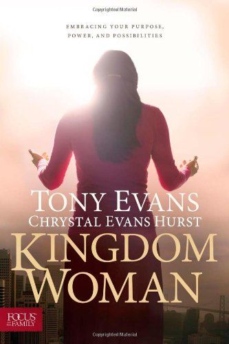 Kingdom Woman: Embracing Your Purpose, Power, and Possibilities by Tony Evans http://www.amazon.com/dp/1589977432/ref=cm_sw_r_pi_dp_GyC0tb1RQNZXNY5E
