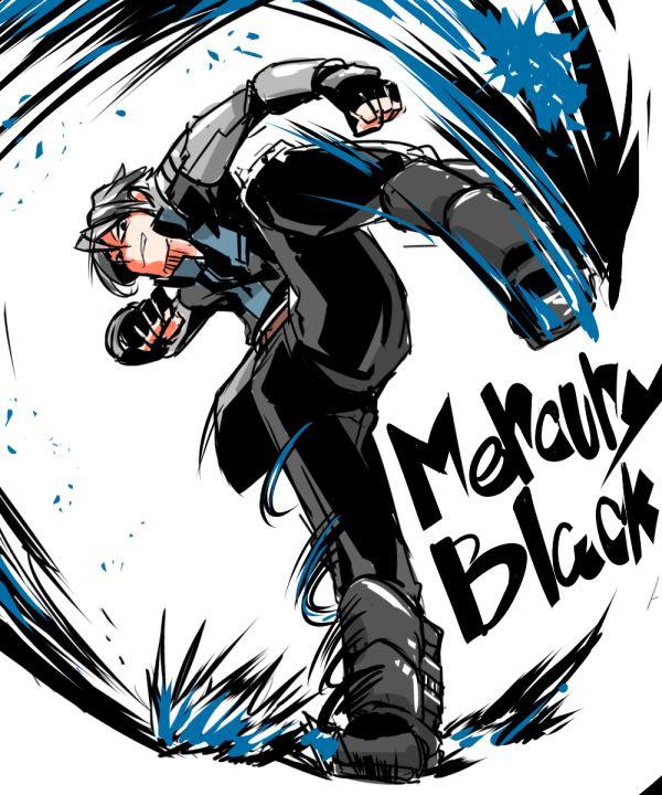 RWBY - Mercury Black