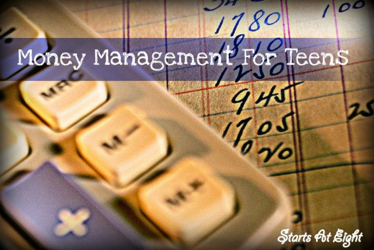 management teens money