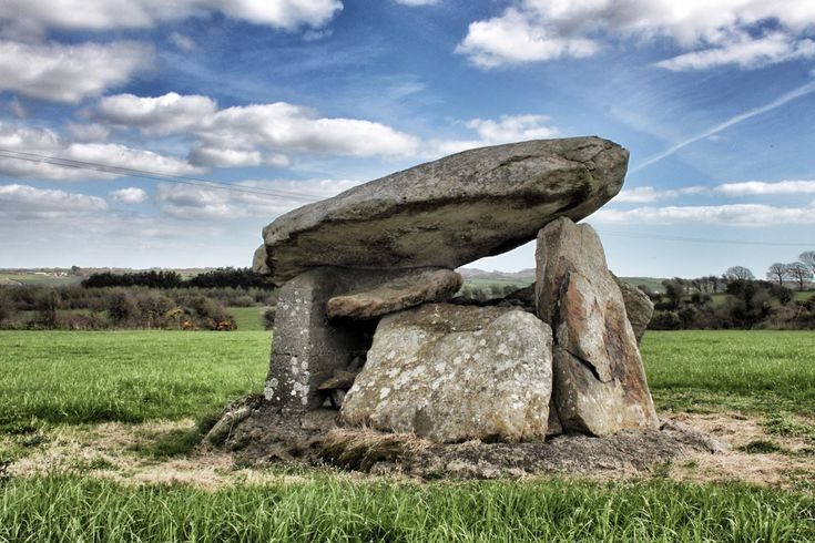 Ballynageeragh portal tomb, part of the Waterford Dolmen Trail.