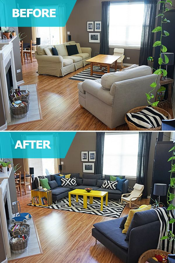 The IKEA Home Tour Squad Created A Comfortable And Flexible Living Room Space For Melissa